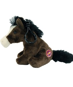 """Colorado Horses 4"""" Clip on Plush Side View"""
