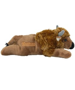 "Montana Bison 7"" Plush Side View"