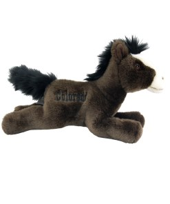 "Colorado Horse 9"" Plush Side View"