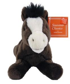 "Montana 9"" Plush Horse Front View"