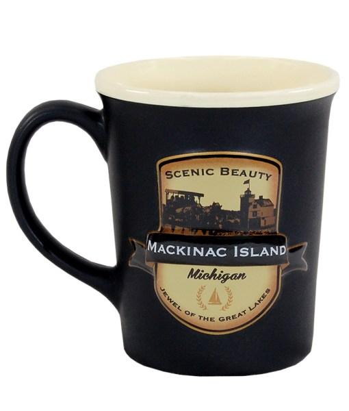 Mackinac Island Emblem Mug