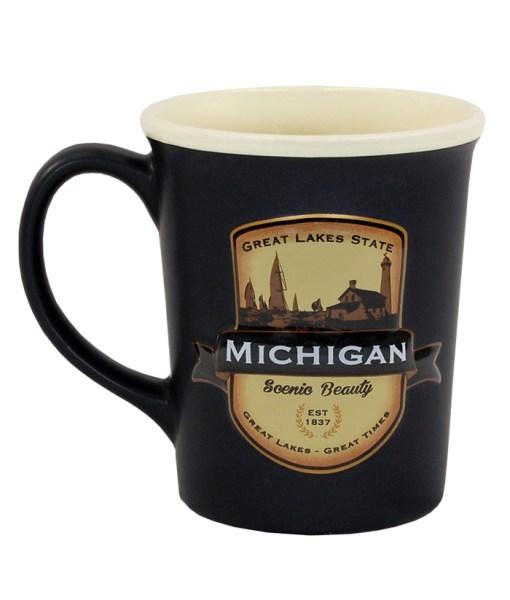 Michigan Emblem Mug