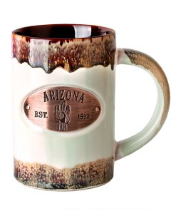 Arizona Copper Medallion Green Mug