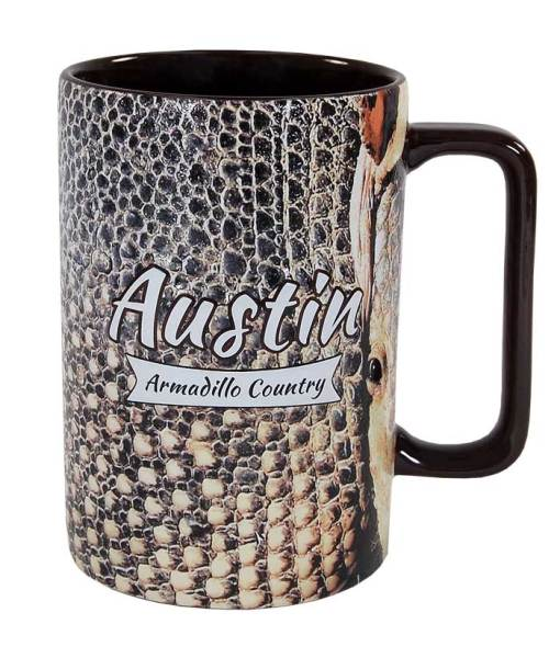 Austin Armadillo Country Novelty Mug