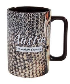 Austin Armadillo Country Novelty Mug