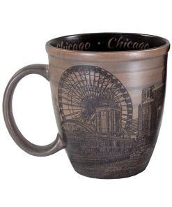 Chicago Sketch Art Mug