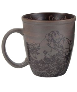 Colorado Sketch Art Mug