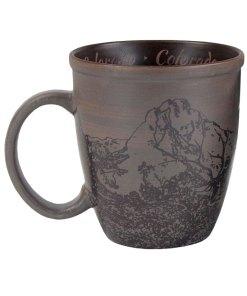 Colorado Sketch Art Mug