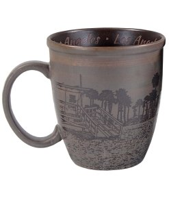 Los Angeles Sketch Art Mug