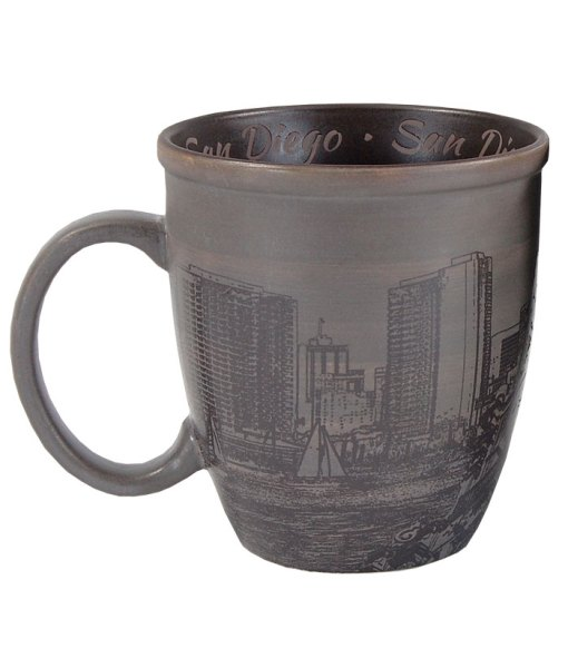 San Diego Sketch Art Mug