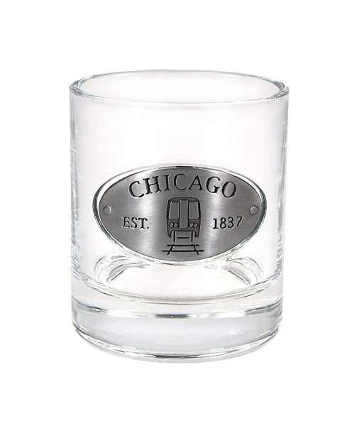 Chicago Whiskey Glass