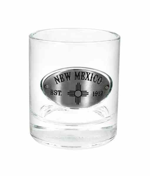 New Mexico Whiskey Glass