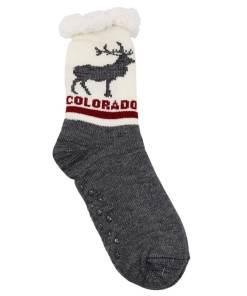 Colorado Adult Slipper Socks