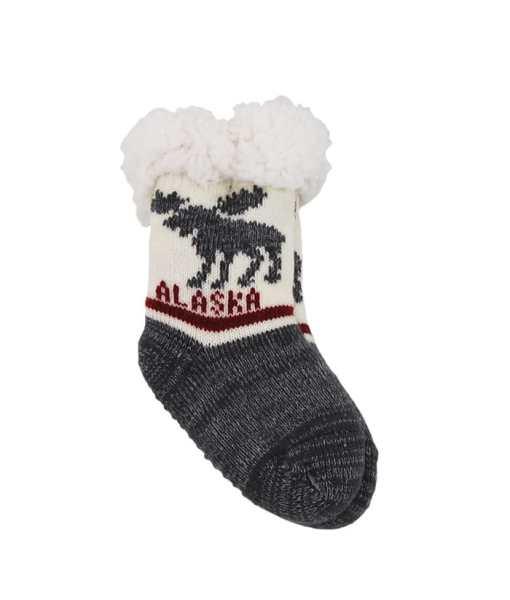 Alaska Infant Slipper Socks