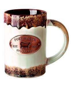 Ft Worth Copper Medallion Mug