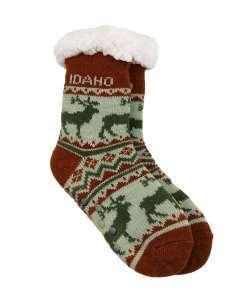 Idaho Kids Elk Pattern Socks