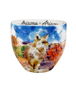 Arizona designed watercolor mug middle