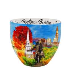 Boston designed watercolor mug middle