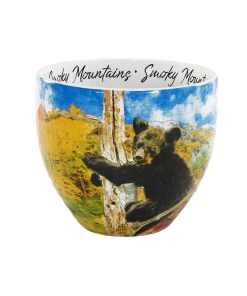 Smoky Mountains watercolor mug middle view