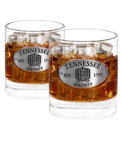 Two Tennessee Whiskey Glasses