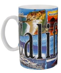 California Tall Etched Mug