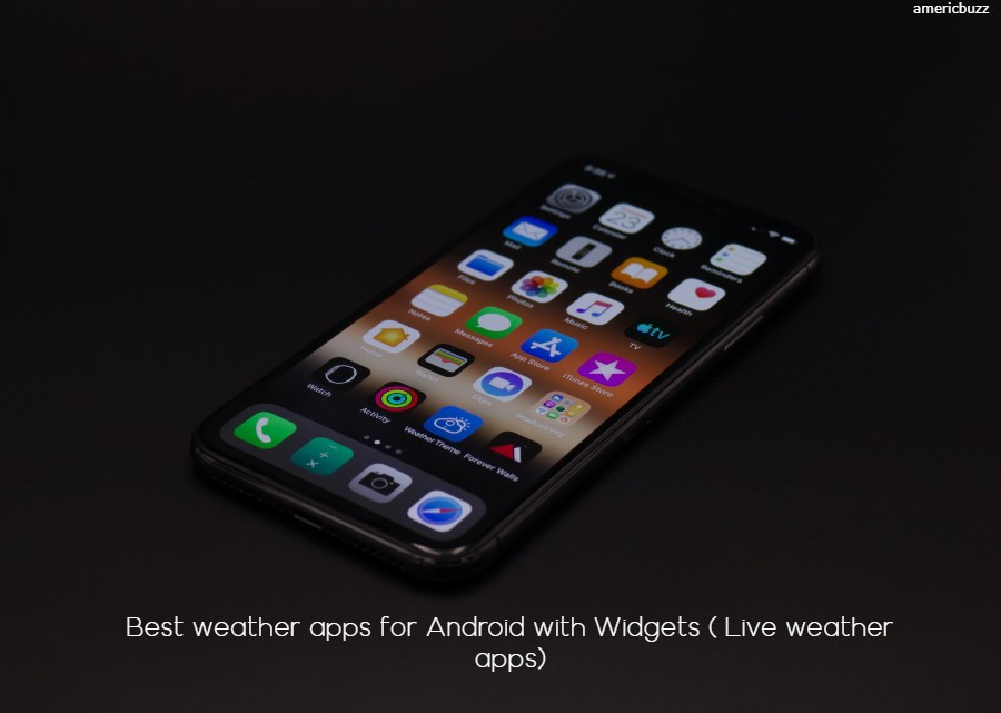Best weather apps for Android with Widgets ( Live weather apps)