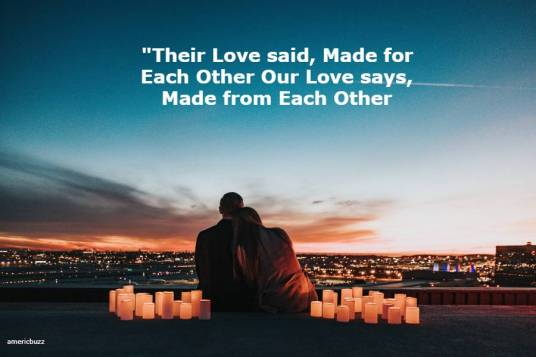 Made for each other Quotes for Perfect Couple