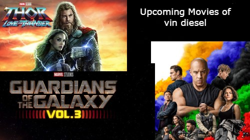 Top 5 Upcoming Movies of Vin diesel Checkout