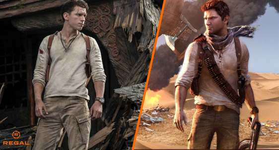 Uncharted Tom Holland First Look Regal Reel TitleImage