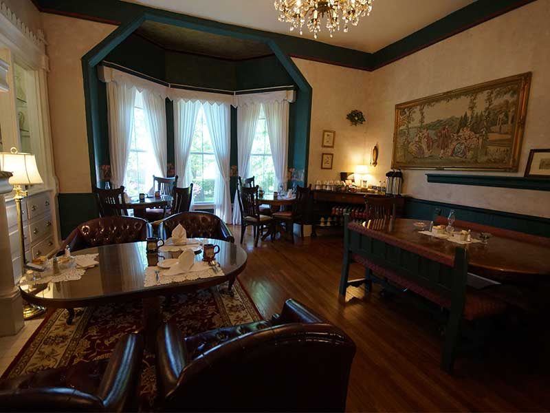 2020 Dining Room | Americus Garden Inn Bed & Breakfast, Georgia
