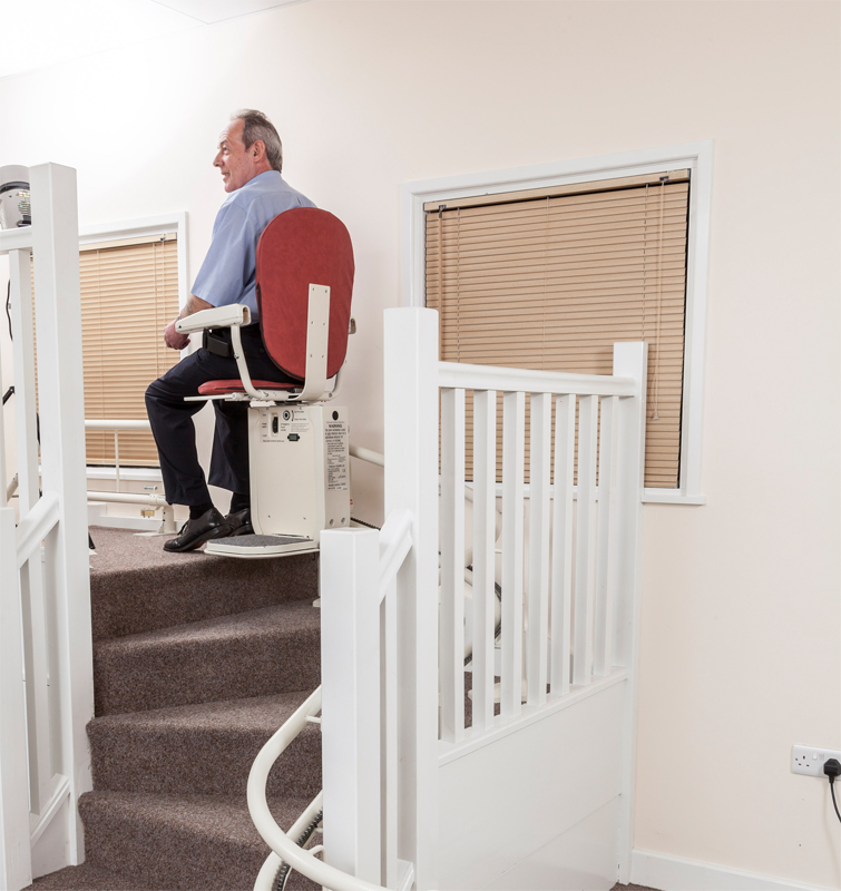 AmeriGlide Platinum HD Stair Lift Curved Stairlifts