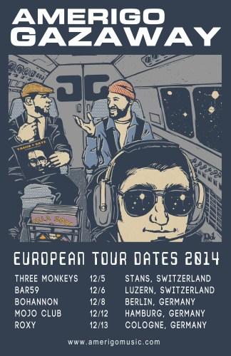 Amerigo Gazaway Tour Dates Europe 2014