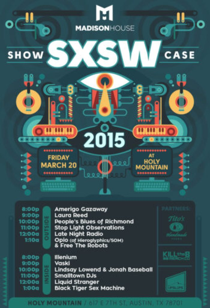 Madison House Showcase SXSW 2015