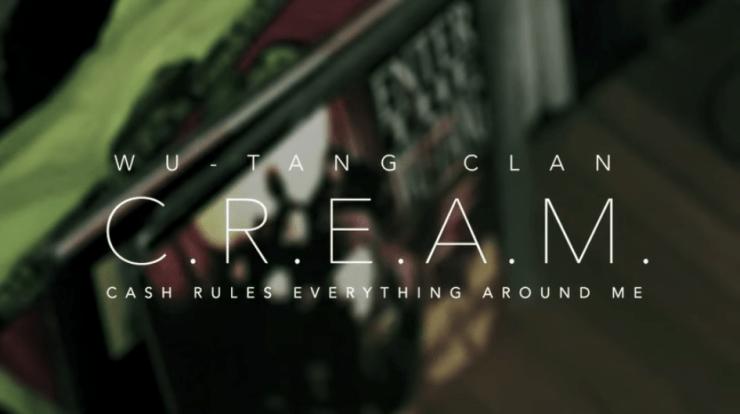 Wu-Tang Clan - C.R.E.A.M. (amerigo Gazaway Rework)
