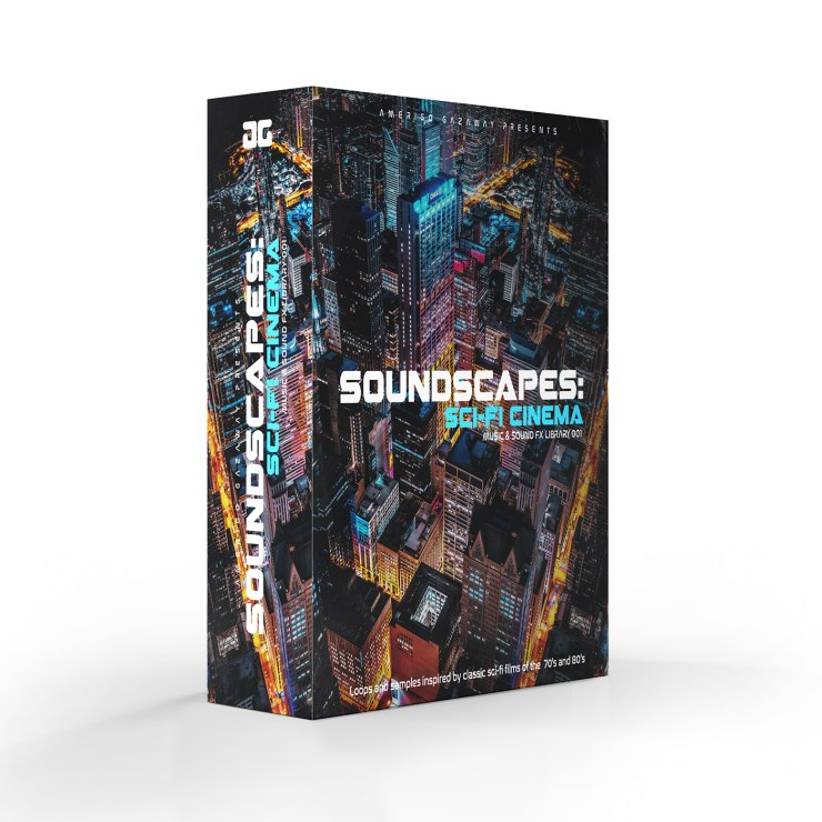 Soundscapes: Sci-Fi Cinema (Music & Sound FX Library)