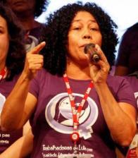 Carmen Helena Ferreira Foro, Landarbeiterin aus dem nordbrasilianischen Bundesstaat Pará und Vizepräsidentin des Gewerkschaftsdachverbandes CUT