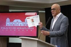 Venezuelas Minister für Kommunikation, Jorge Rodríguez, berichtete bei der Pressekonferenz am Montag über Ermittlungsergebnisse in Sachen Stromausfälle