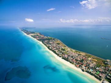 Varadero liegt rund 140 Kilometer östlich von Havanna