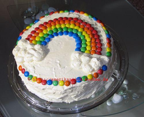 Rainbow Cake RegenbogenkuchenRegenbogentorte