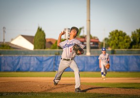 Jared Fujitani Pitching His Heart Out!