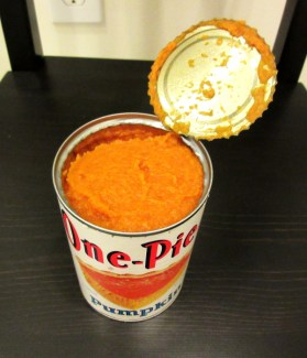 canned pumpkin puree texture