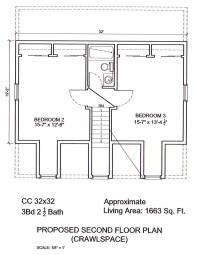 AmeriPanel Homes of South Carolina-Cape Cod Floor Plans