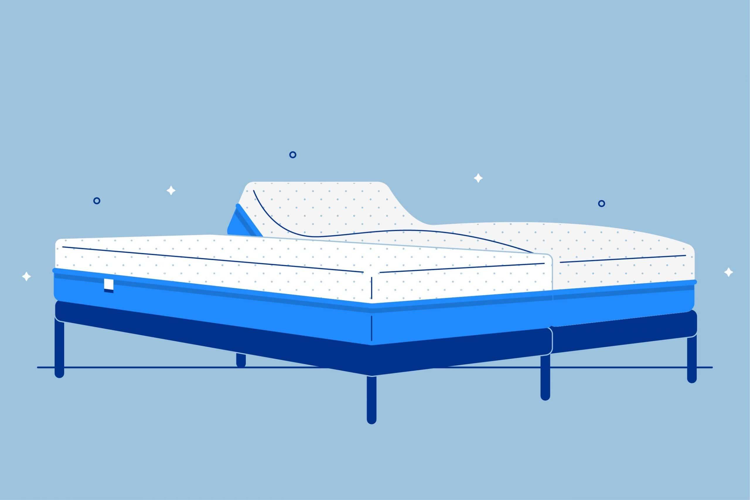 Split King Adjustable Beds And Mattresses Amerisleep
