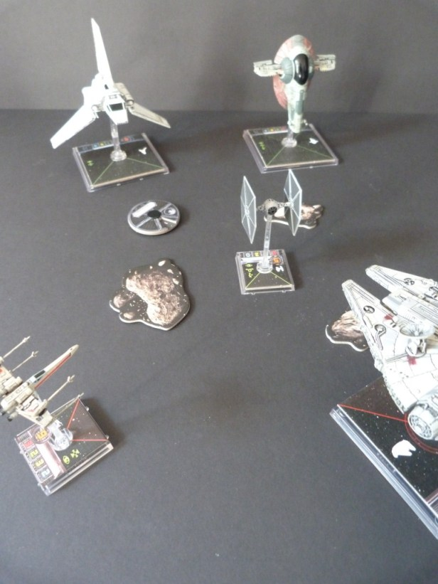 Wat schepen en astroïdes.