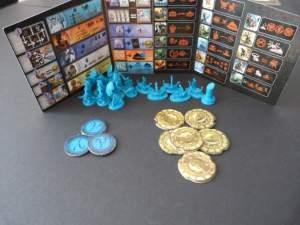Speelstukken per speler na setup.
