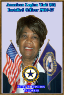 Betty Brewington, Treasurer