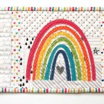 Mini Rainbow Applique Pattern Ameroonie Designs