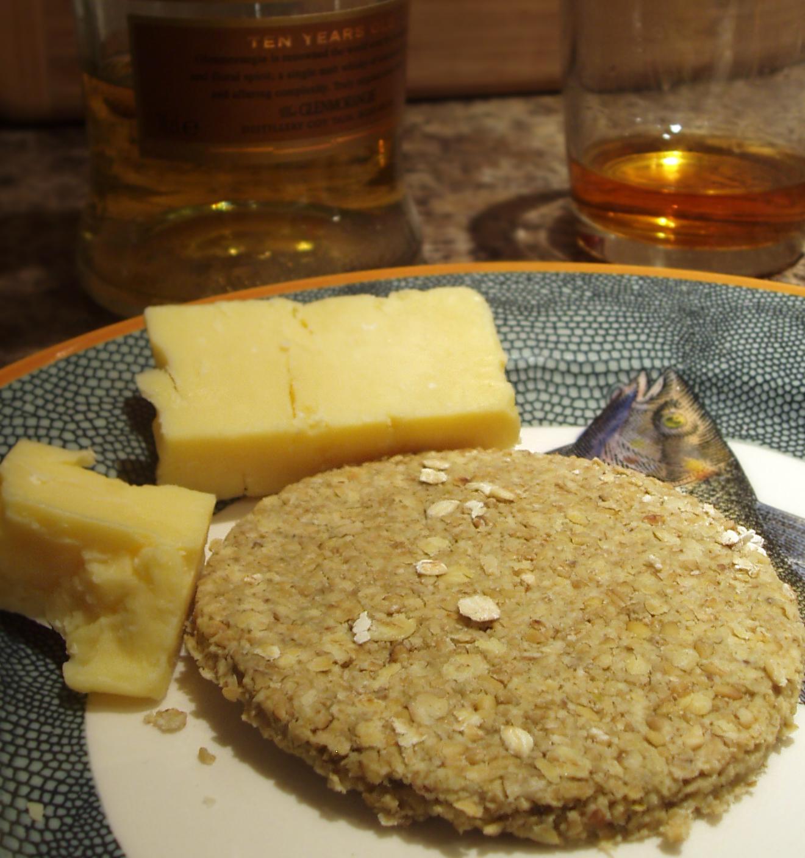 oatcake and cheese