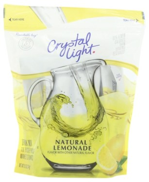 cyrstal light lemonade