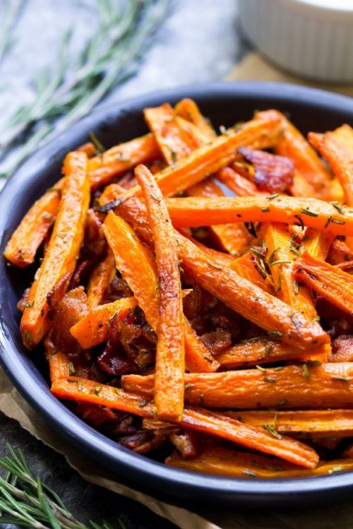 Carrot Fries by Paleo Running Momma - Whole 30 Thanksgiving Recipes